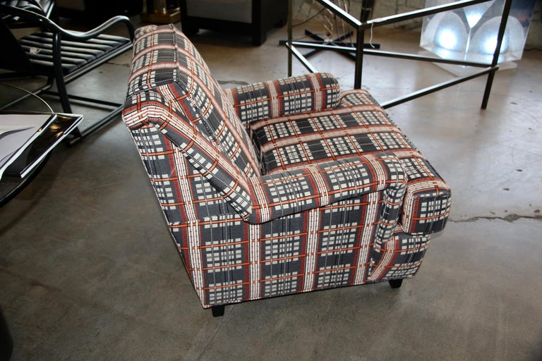 Lounge Chair in Knoll Fabric Designed by Dorothy Cosonas In Good Condition For Sale In Palm Springs, CA