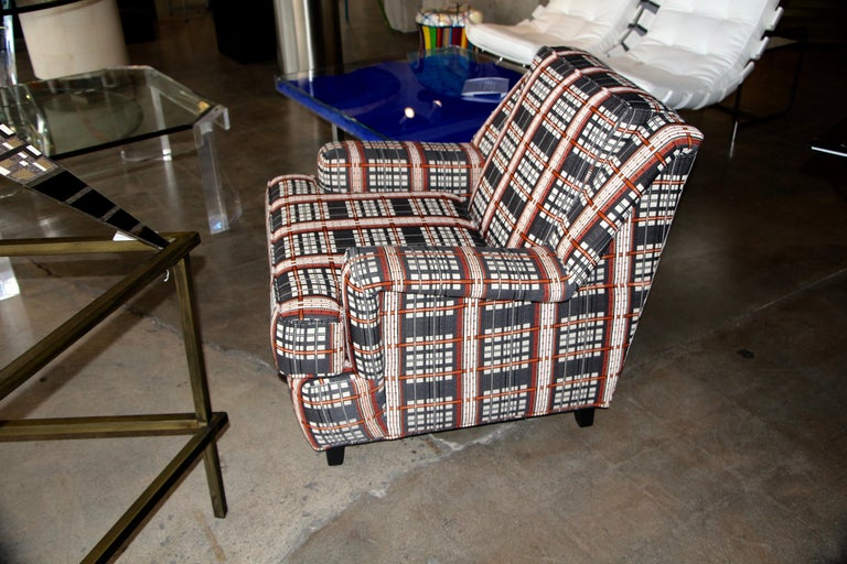 Lounge Chair in Knoll Fabric Designed by Dorothy Cosonas For Sale 1