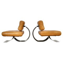Lounge Chair in the Style of Oscar Niemeyer, 1970s