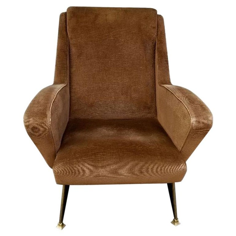 Lounge Chair, Italy, 1950s For Sale