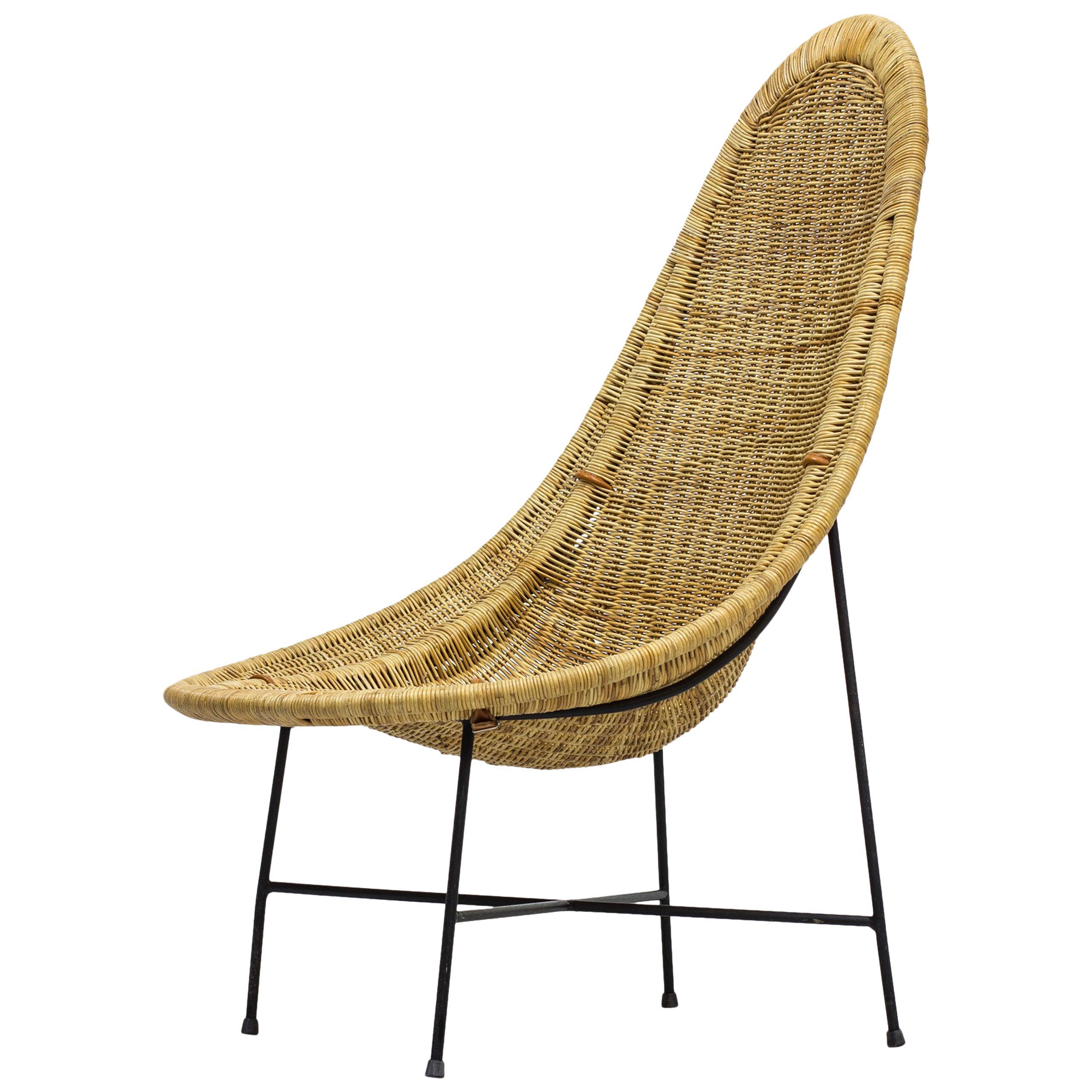 "Lounge Chair ""Kraal"" by Kerstin Hörlin-Holmquist for Nordiska Kompaniet"