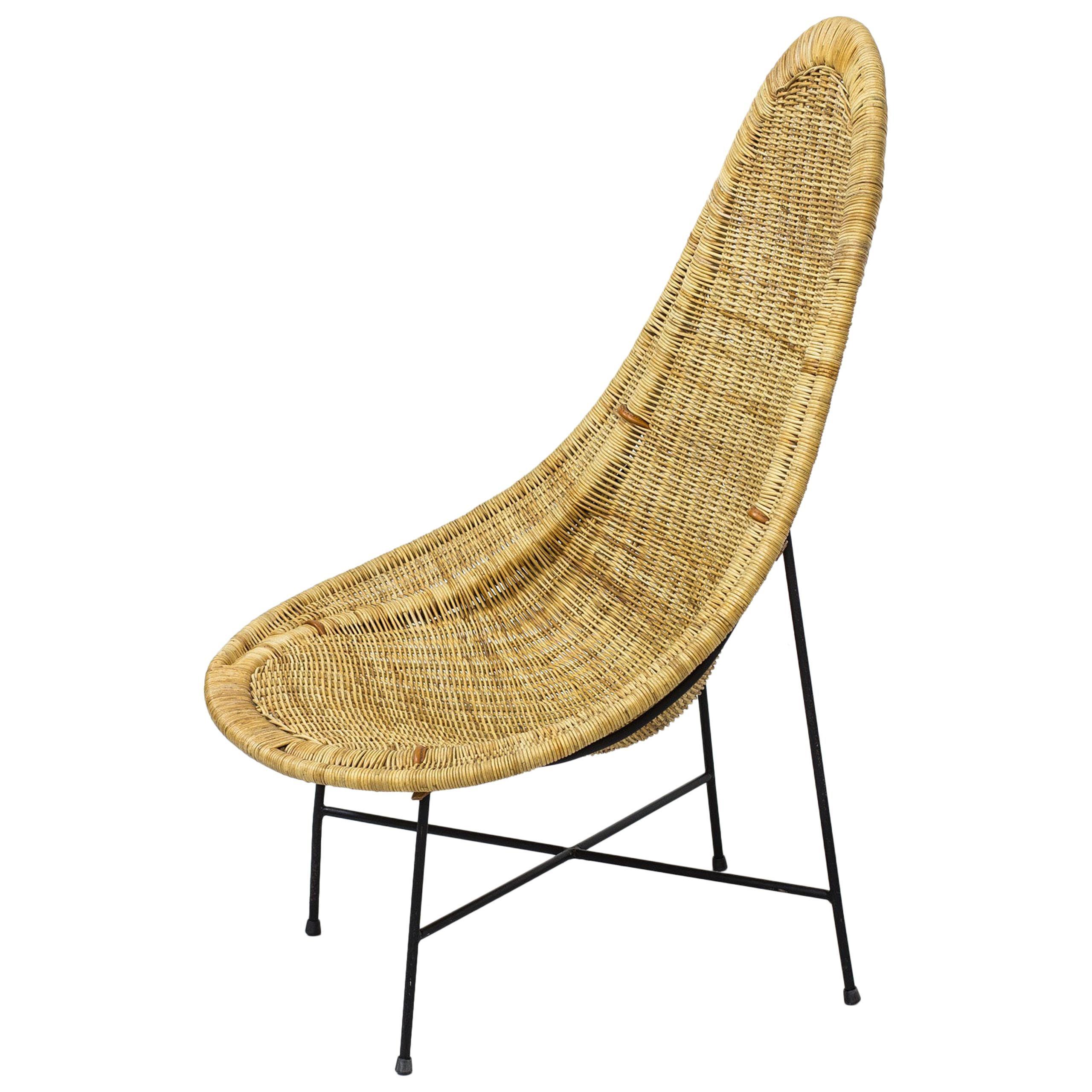 "Lounge Chair ""Kraal"" by Kerstin Hörlin-Holmquist for Nordiska Kompaniet No.2"