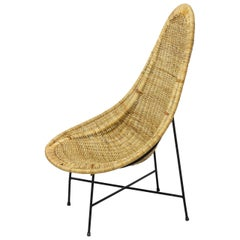 "Lounge Chair ""Kraal"" by Kerstin Hörlin-Holmquist for Nordiska Kompaniet No.2"