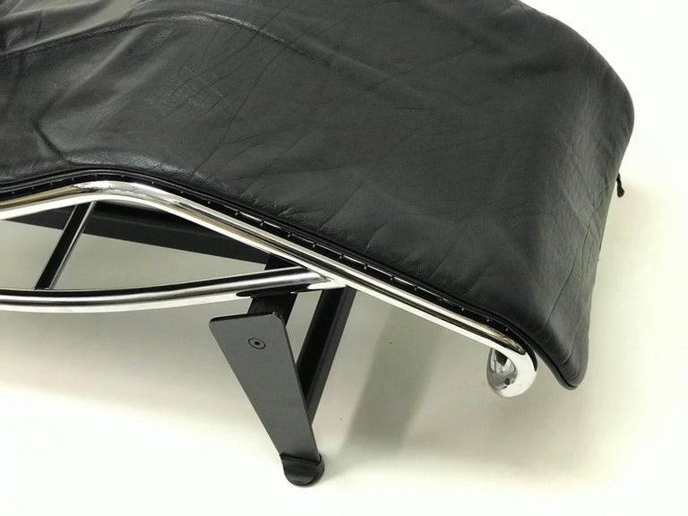 Mid-Century Modern Lounge Chair LC4 by Le Corbusier,
