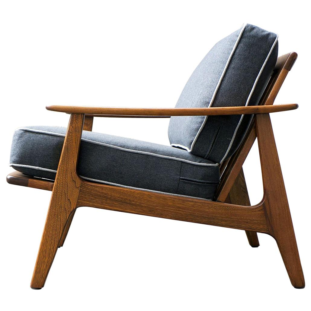 """Lounge Chair Mexican Midcentury by """"Malinche"""", 1950s"""
