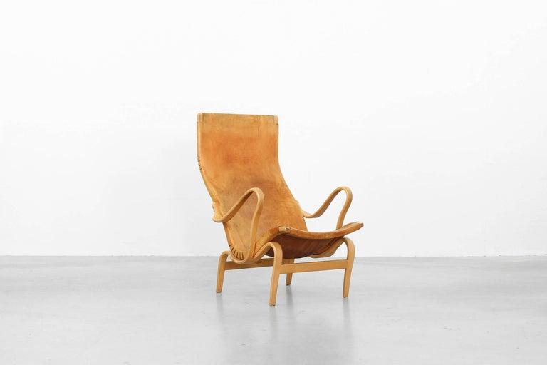 Lounge Chair Mod  Pernilla by Bruno Mathsson for Karl Mathsson, Sweden 1950s