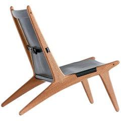 Lounge Chair Model 204 by Uno & Östen Kristiansson for Luxus, Sweden, 1954