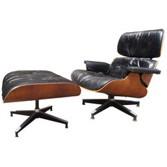 Lounge Chair & Ottoman, Model 670/671 by Charles & Ray Eames for Herman Miller