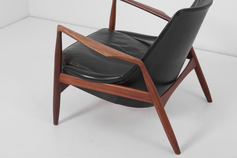 Lounge Chair Seal 'Sälen', Model 503-799 by Ib Kofod-Larsen for OPE Olof Persson For Sale 3