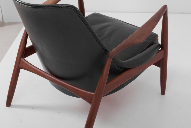 Lounge Chair Seal 'Sälen', Model 503-799 by Ib Kofod-Larsen for OPE Olof Persson For Sale 4