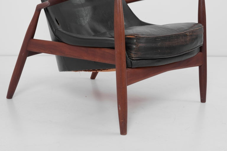 Lounge Chair Seal 'Sälen', Model 503-799 by Ib Kofod-Larsen for OPE Olof Persson For Sale 1