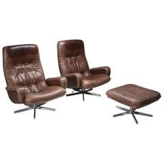 Lounge Chair Set S231 'James Bond' by De Sede, Switzerland