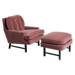 Lounge Chair with Ottoman by Harvey Probber