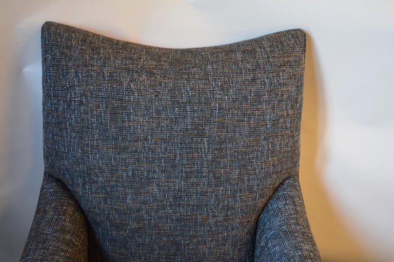 Lounge Chair with Ottoman In Excellent Condition For Sale In Los Angeles, CA