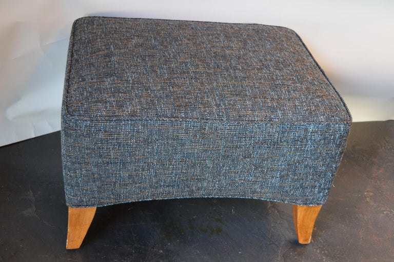Lounge Chair with Ottoman For Sale 1