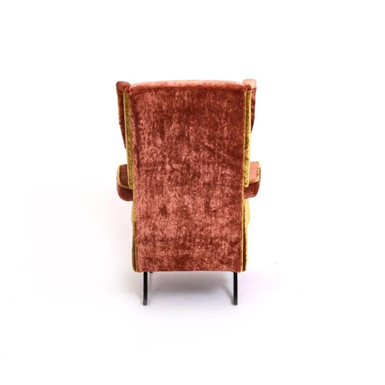 Lounge Chair, Italy, Mid-20th Century In Excellent Condition For Sale In Greding, DE