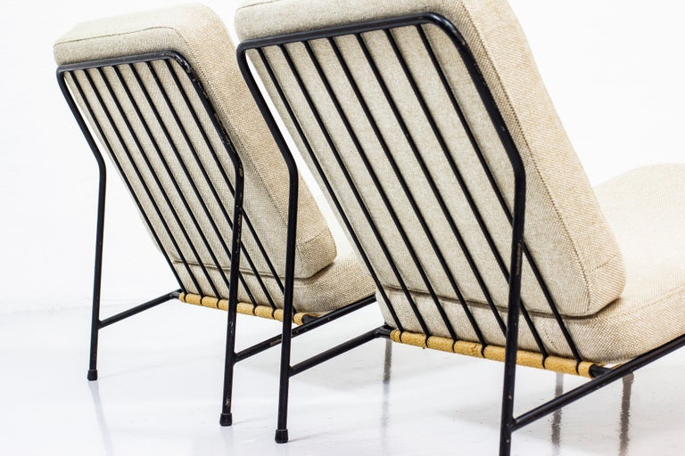 Lounge Chairs by Alf Svensson for Ljungs Industrier, Sweden, Midcentury, 1950s In Good Condition For Sale In Stockholm, SE