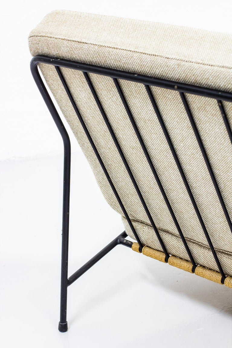 Mid-20th Century Lounge Chairs by Alf Svensson for Ljungs Industrier, Sweden, Midcentury, 1950s For Sale