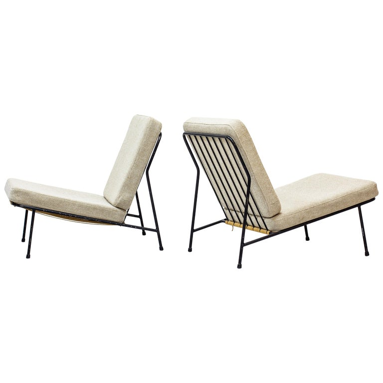 Lounge Chairs by Alf Svensson for Ljungs Industrier, Sweden, Midcentury, 1950s For Sale