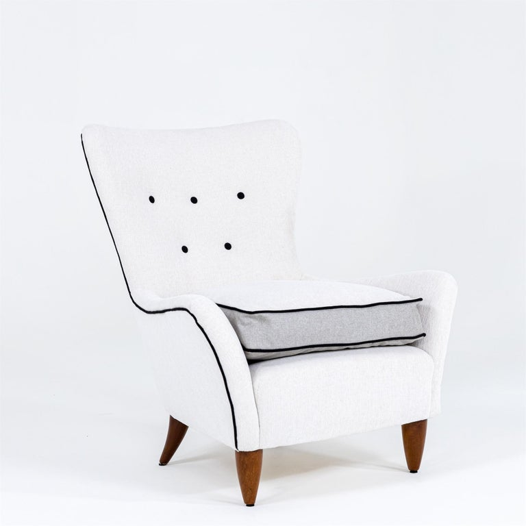 Italian Lounge Chairs by Brambilla, Italy, 1950s For Sale