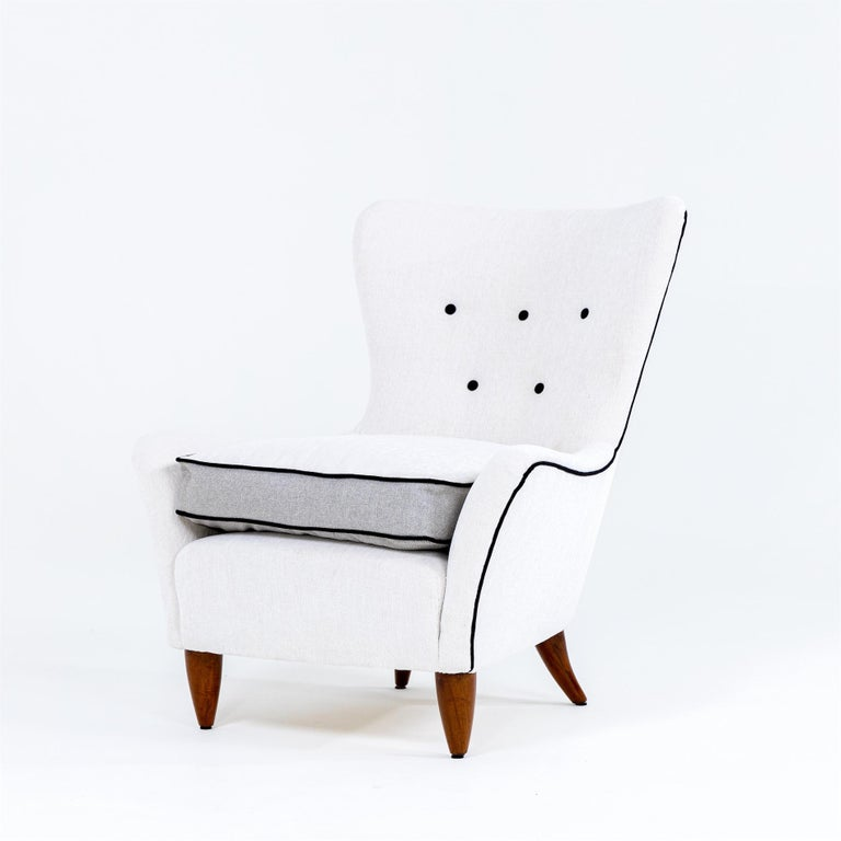 Lounge Chairs by Brambilla, Italy, 1950s In Good Condition For Sale In Greding, DE