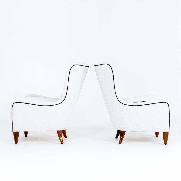 Lounge Chairs by Brambilla, Italy, 1950s For Sale 1