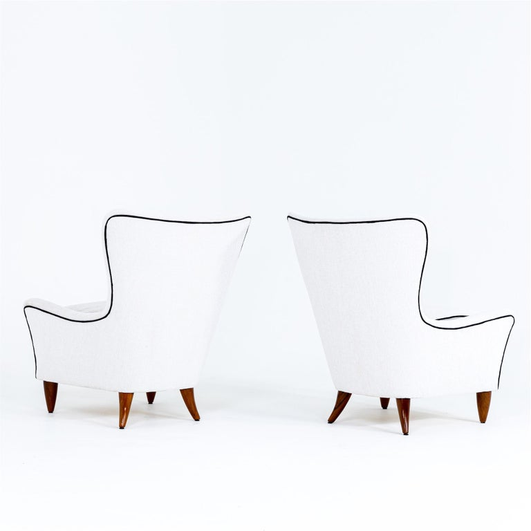Lounge Chairs by Brambilla, Italy, 1950s For Sale 2