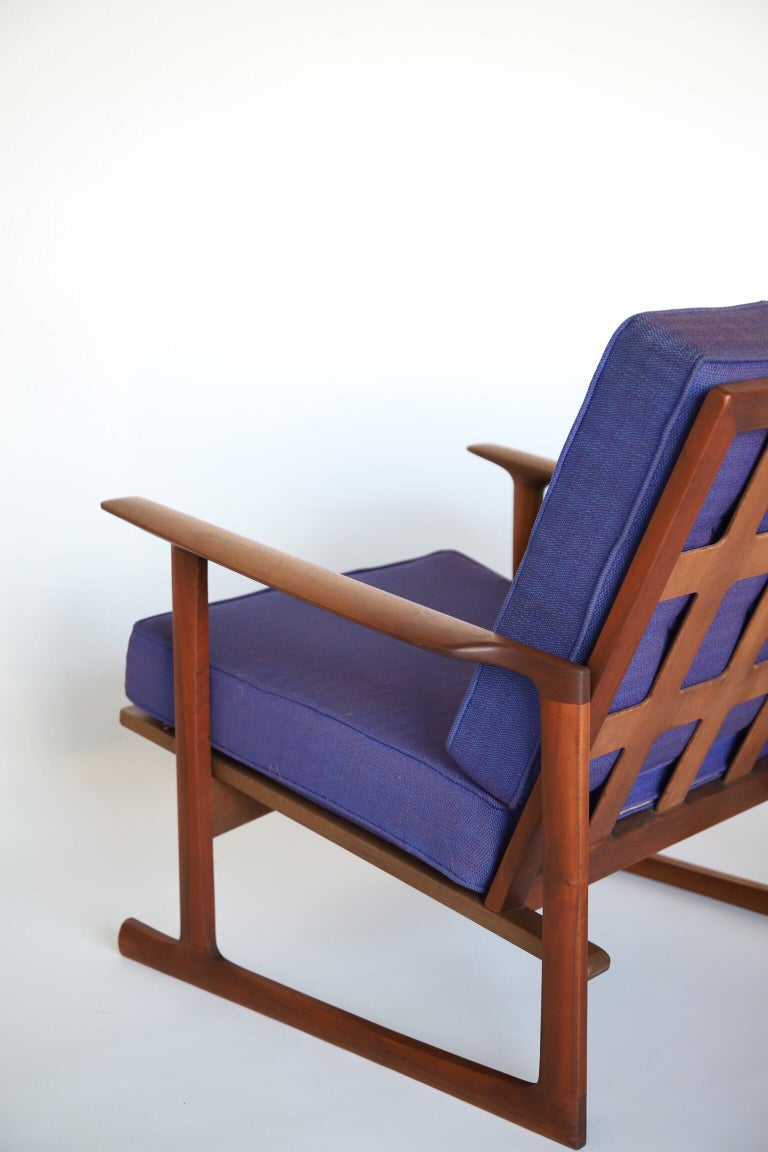 Mid-Century Modern Lounge Chairs by Ib Kofod Larsen For Sale