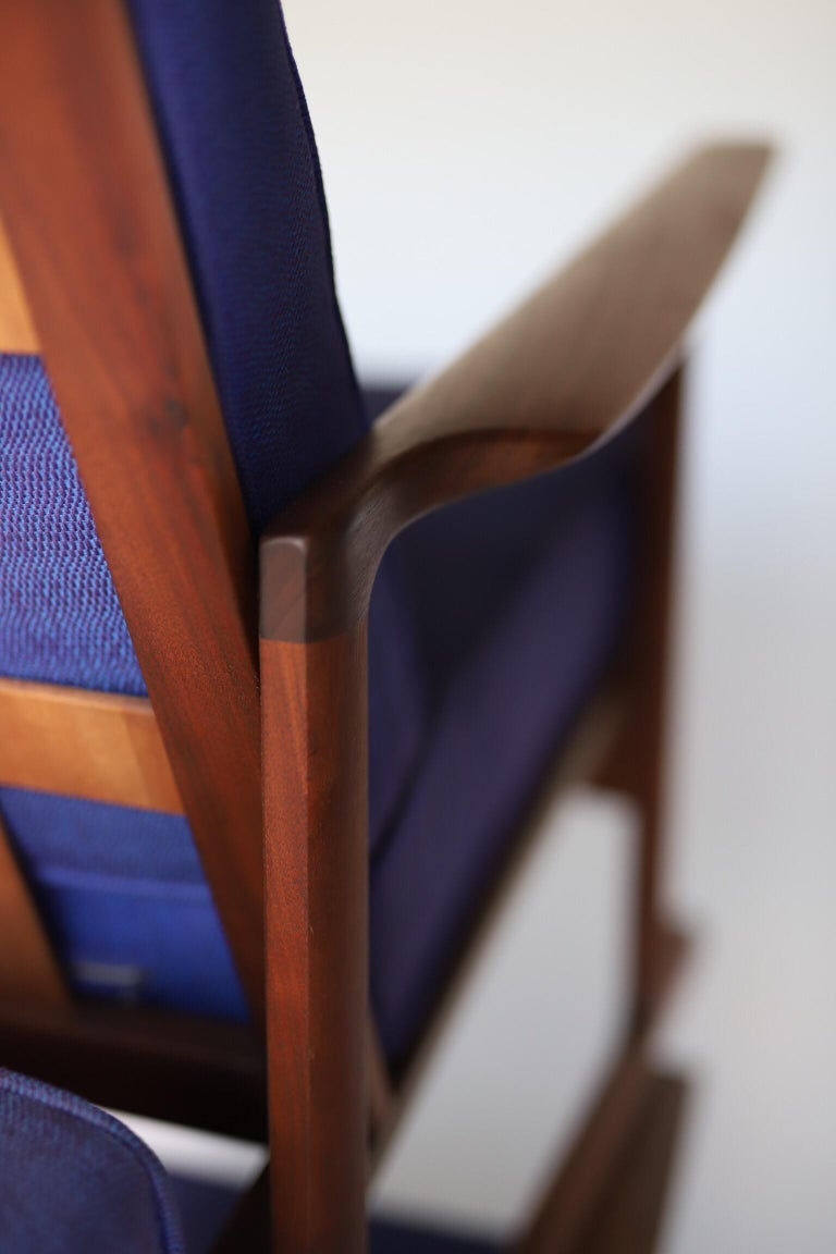 Danish Lounge Chairs by Ib Kofod Larsen For Sale