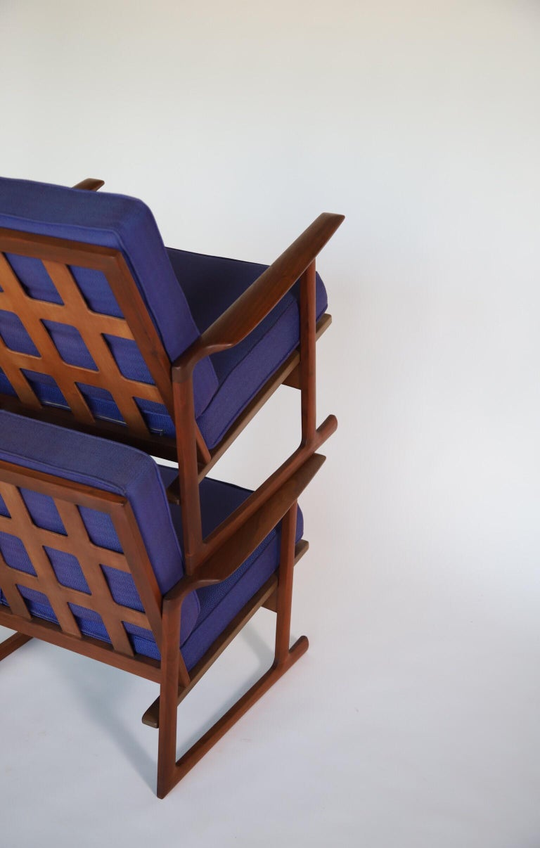 Mid-20th Century Lounge Chairs by Ib Kofod Larsen For Sale