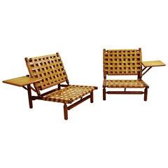 Lounge Chairs by Ilmari Tapiovaara for Paolo Arnaboldi, Italy, 1957