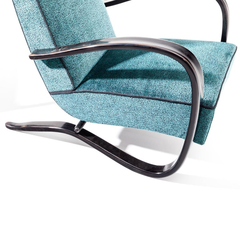 Lounge Chairs by J. Halabala, Czech Republic, 1930s For Sale 3
