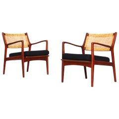 Lounge Chairs by Karl-Erik Ekselius for JOC in Vetlanda, Sweden, 1960