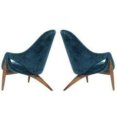 Lounge Chairs by Luigi Tiengo for Cimon Montréal, 1963