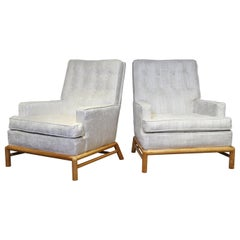 Lounge Chairs by T.H. Robsjohn-Gibbings for Widdicomb