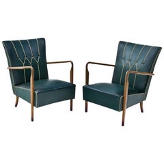 Lounge Chairs, Italy, Mid-20th Century