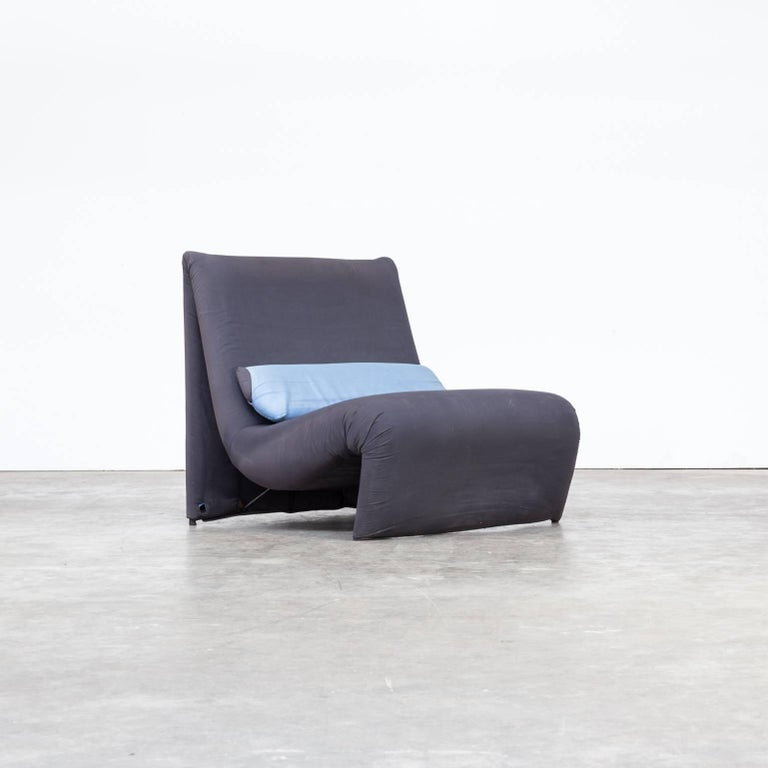 lounge fauteuil 1980s for ligne roset for sale at 1stdibs. Black Bedroom Furniture Sets. Home Design Ideas