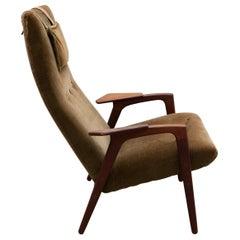 Lounge Reading Chair Designed by Yngve Ekström for Pastoe the Netherlands