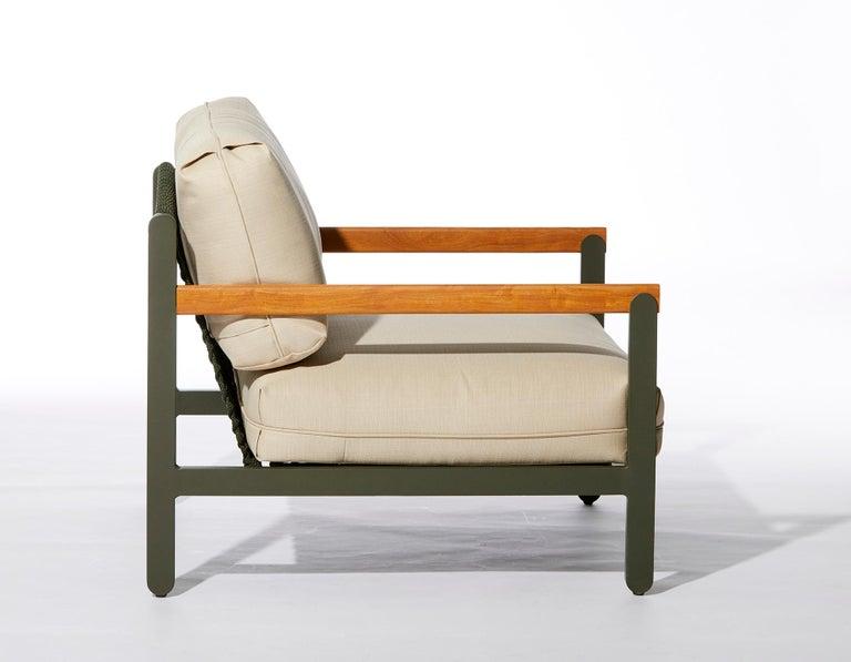Lounge Style Minimalist Armchair, Indoor or Outdoor ...
