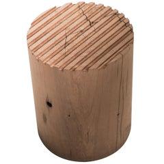 Lounge Table GH Turned Vintage Wood