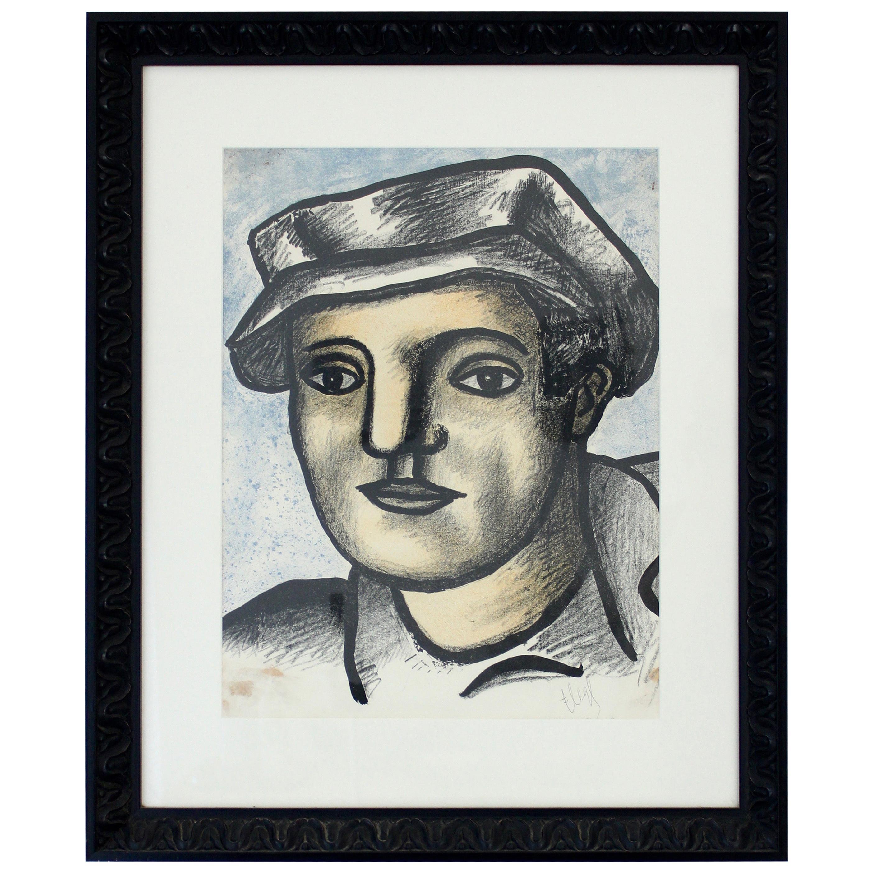 L'ouvrier Fernand Léger Lithograph, 1951