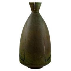 Löva, Gustavsberg, Gabi Citron-Tengborg, Vase in Glazed Ceramic, 1960s