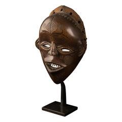 """Lovale People, Zambia, Female Mask """"Mwana Pwevo"""""""