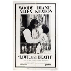 Love and Death 1975 U.S. One Sheet Film Poster