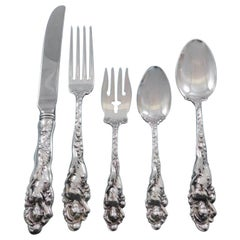 Love Disarmed by Reed and Barton Sterling Silver Flatware Set Dinner Service