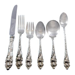 Love Disarmed by Reed and Barton Sterling Silver Flatware Set Service 74 Pcs
