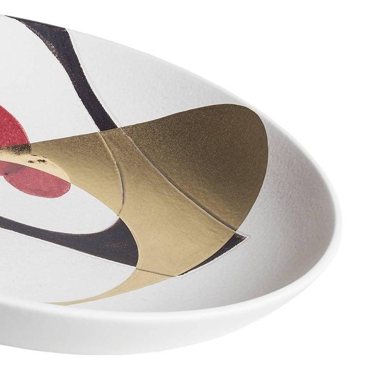 Italian Love-Letters Ceramic Centrepiece Plate For Sale