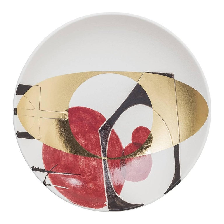 Love-Letters Ceramic Centrepiece Plate For Sale
