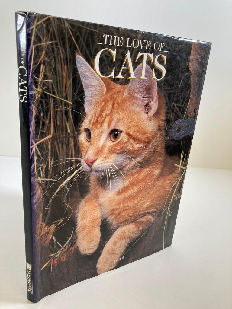 Love of Cats by Tom Howard Hardcover Book For Sale 4