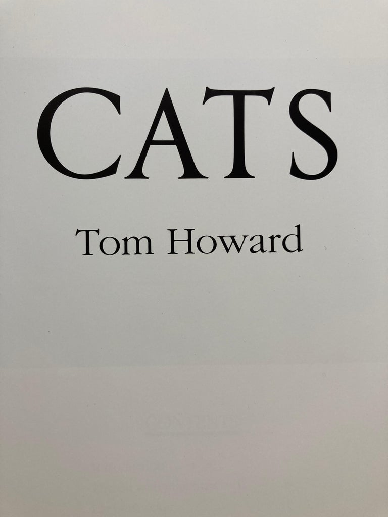 Love of Cats by Tom Howard Hardcover Book In Good Condition For Sale In North Hollywood, CA